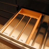 Labeled Drawer Compartments