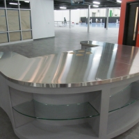 Stainless Retail Sales Counter